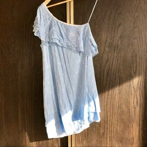 Chanler Henry Blue Asymmetrical Dress